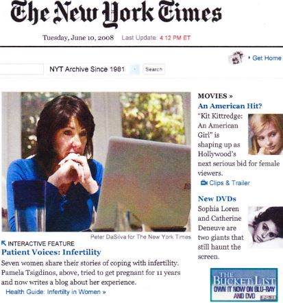 New York Times Feature Pamela