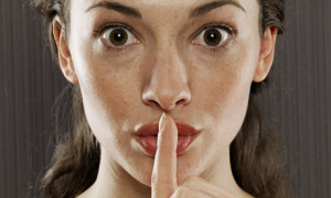 Sshh keeping quiet is cool.